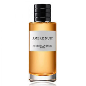 parfum tester Christian Dior La Collection Ambre Nuit 125ml