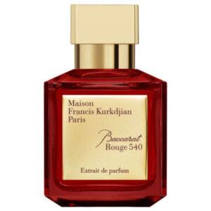 parfum tester maison francis kurkdjian baccarat rouge 540 extrait de parfum