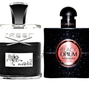 set cadou creed aventus si yves saint laurent black opium tester