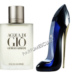 set cadou giorgio armani acqua di gio si carolina herrera good girl tester