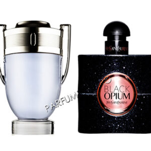 set cadou paco rabanne invictus si yves saint laurent black opium tester