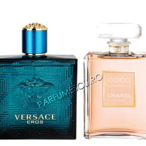 set cadou versace eros si coco chanel mademoiselle tester